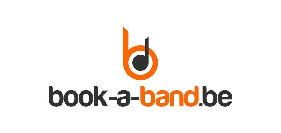 "Intrarea #145 pentru concursul ""Logo Design for book-a-band.be"""