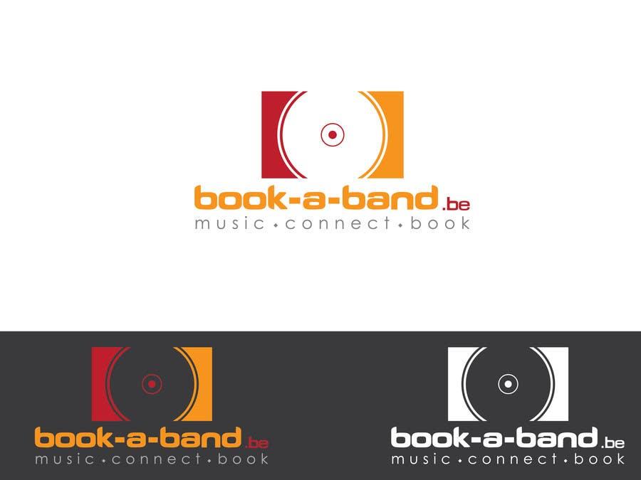 "Intrarea #294 pentru concursul ""Logo Design for book-a-band.be"""