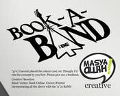 Graphic Design Kilpailutyö #314 kilpailuun Logo Design for book-a-band.be