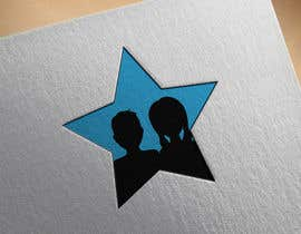 nº 55 pour Create simple logo of man & woman inside star par DesignInverter