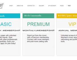 #1 Create a Membership level and landing page on my current website részére mohitverma94 által