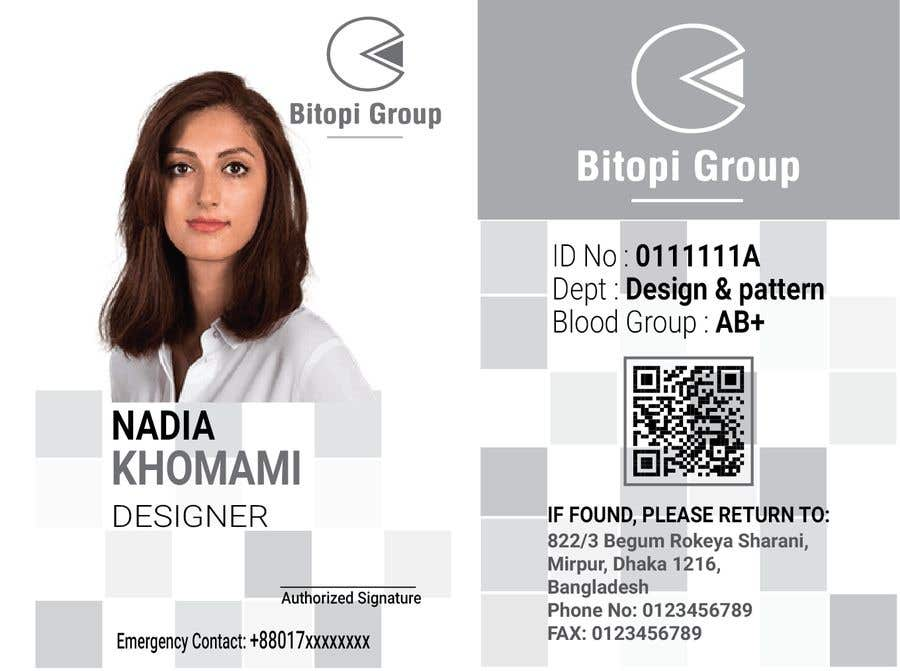 Entry #47 by sabrinaparvin77 for Corporate Identity Card