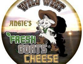 #41 สำหรับ Angies Wild West Goats Cheese. โดย DanievdW