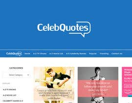 #25 para Design a Logo For Celeb Quote Website de Ovi333