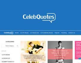 #25 untuk Design a Logo For Celeb Quote Website oleh Ovi333