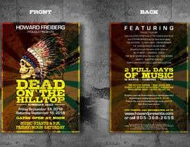 #39 for I need concert design for poster and postcard flyer af zedsheikh83