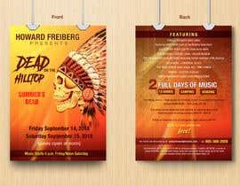 #45 for I need concert design for poster and postcard flyer af aatir2