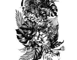 #41 untuk £100 for a Black and White hand or computer drawn tropical image of leaves, fruits and trees (see attached). oleh iomikelsone