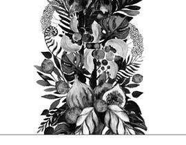 #43 untuk £100 for a Black and White hand or computer drawn tropical image of leaves, fruits and trees (see attached). oleh iomikelsone