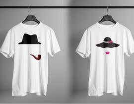 #47 for Trendy & Catchy Tshirt Screen Printing Design For Couple by aatir2