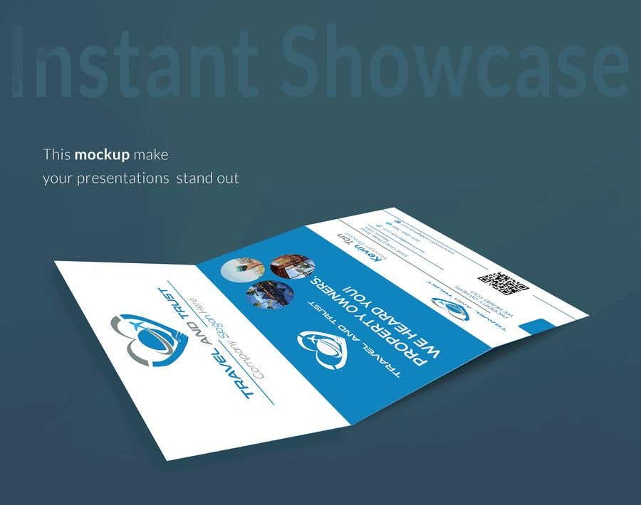 Contest Entry 10 For Tri Fold Business Card One Page Slick