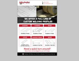 #117 cho Design a flyer top hand to clients bởi silverpixel1