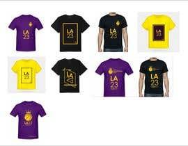 nº 44 pour Lakers Fan Shirt par Oamac