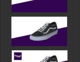 #101 untuk Design an clean, inspiring Facebook shoe ad Background image oleh skinnudity