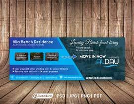 nº 121 pour Design beach residence teaser banner par awaisahmedkarni