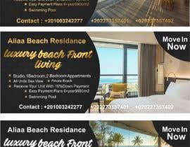 nº 26 pour Design beach residence teaser banner par fotoexpert