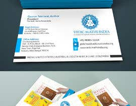 #99 para Design a Business Card for a Successful Author + Entrepreneur de Crea8ivitystudio