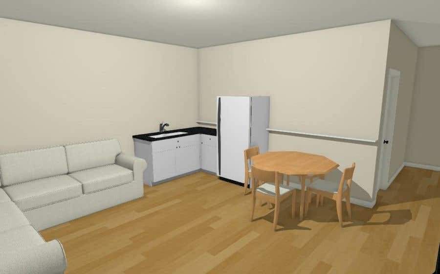 Contest Entry 10 For Design My Studio Apartment