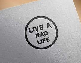 Bexpensivedesign tarafından Please design an epic and iconic logo for my lifestyle/ wellness company 'Live a RAD Life' Please refer to the previous artwork as attached as the artwork must be in circle. için no 61