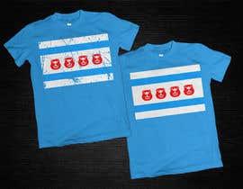 #14 for Chicago flag/Beaver Island shirt by Alexander7117