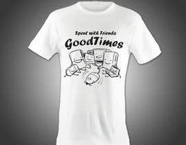 #26 per Gaming theme t-shirt design wanted – Good Times Spent with Friends da photoblpc