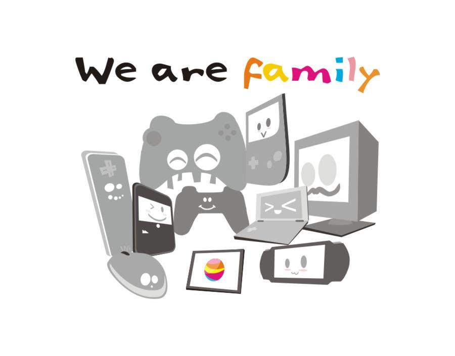 Конкурсная заявка №4 для Gaming theme t-shirt design wanted – Good Times Spent with Friends