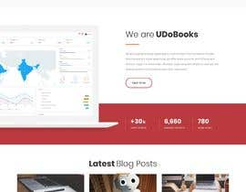 #26 untuk WordPress Landing and Blog Header Design oleh houdinia