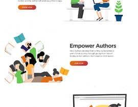 #34 untuk WordPress Landing and Blog Header Design oleh blackeye77