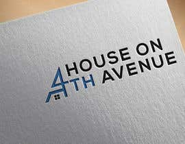 nº 63 pour House on 4th avenue Logo par nurulafsar198829