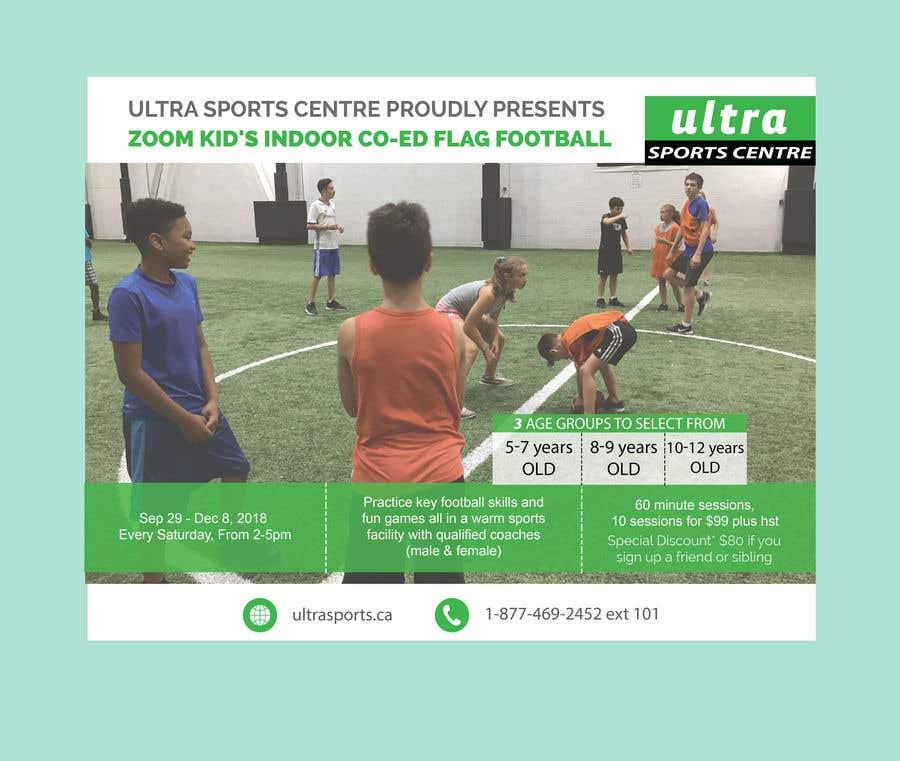 Конкурсная заявка №2 для Flag Football - Youth