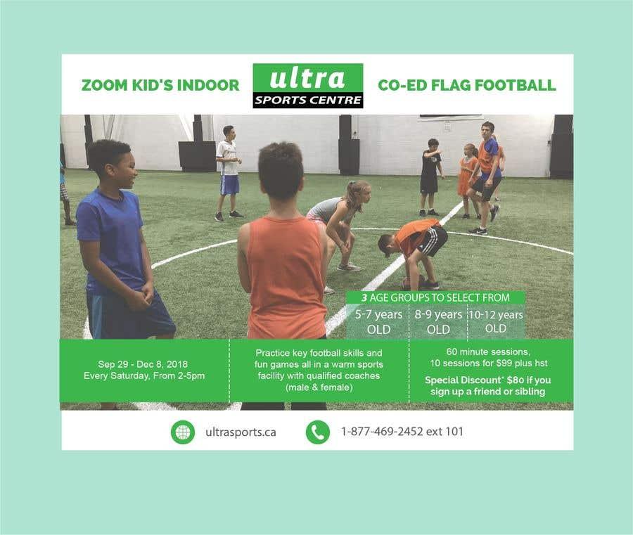 Конкурсная заявка №4 для Flag Football - Youth