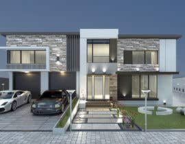 #13 for Architectural Design and 3D Visualization of New house by Scrpn0