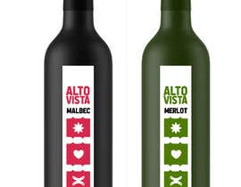 #80 for Wine Label Serie by MatiasDC