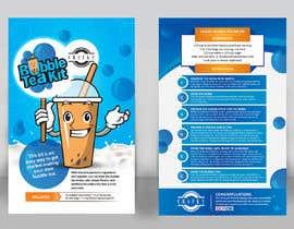 MuraliKarthik tarafından Crafky Bubble Tea Kit Instruction Flyer için no 60