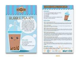 Ichwan94 tarafından Crafky Bubble Tea Kit Instruction Flyer için no 65