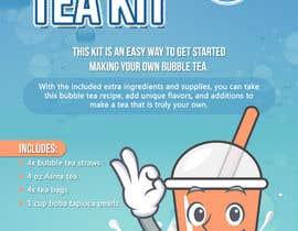 lookandfeel2016 tarafından Crafky Bubble Tea Kit Instruction Flyer için no 66