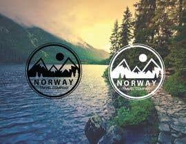 katoon021 tarafından Logo Design - Mountain + Sun/Circle. For Travel Norway için no 37