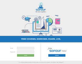 #40 for SOFOUF Landing page by CoolDesignr