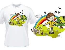 #29 para Illustration for t-shirt por martarbalina