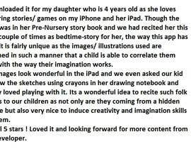 #2 for Appstore review writing af anandarora