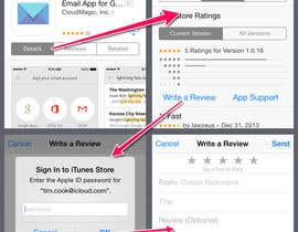 #7 for Appstore review writing af Riz29