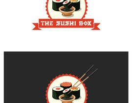 #76 Design Logo and Packaging Sticker for Sushi Brand részére sajibrw99 által