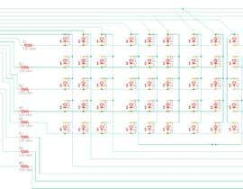 #5 untuk Design a small electronic circuit to drive an LED matrix. oleh lazeeez100100