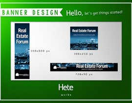 #7 for Design minimalistic banners for a real estate network by hete