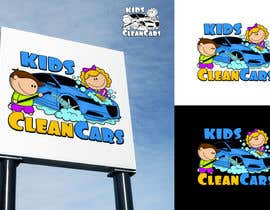 #59 for Create logo for Kids Clean Cars by Attebasile