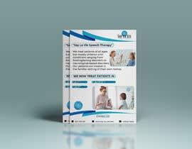Nro 39 kilpailuun Design a Flyer for a Speech Therapy Company käyttäjältä niloykhan55641