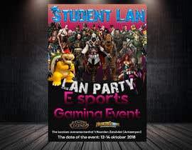 #18 for Lan party poster/flyer by khaledalmanse