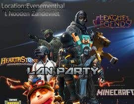 #9 for Lan party poster/flyer by panjamon