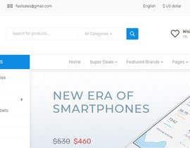 Nro 23 kilpailuun Exciting eCommerce Design/Redesign käyttäjältä IstiaqNirab