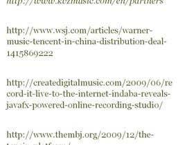 steeefon tarafından Record label setup and help required for exploitation of digital music on other online platforms için no 9
